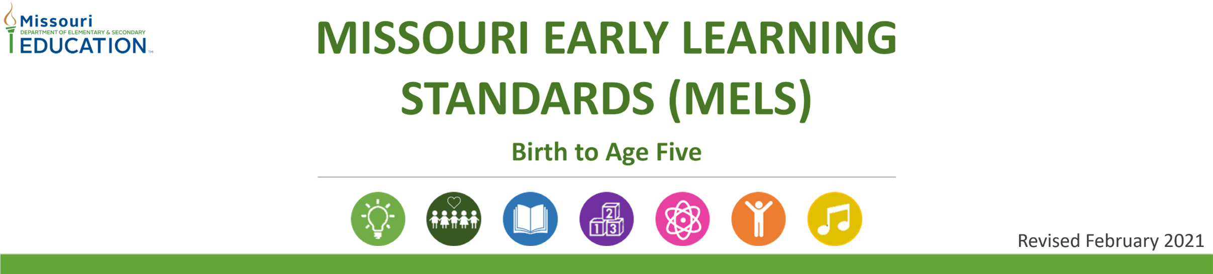 Missouri Early Learning Standards